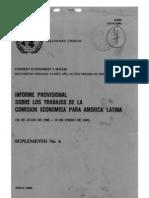 CEPAL 1949 Informe Provisional 1949