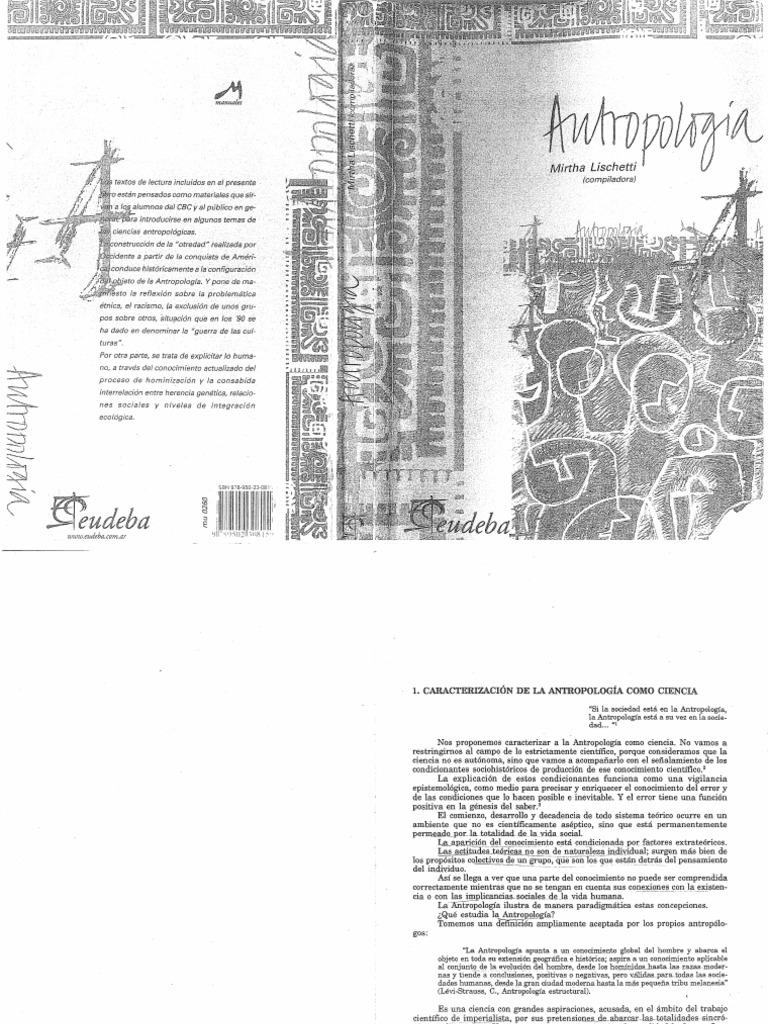 baeddde879ccb Lischetti Mirtha Antropologia