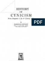 DUDLEY, Donald. a History of Cynicism - From Diogenes to the 6th Century