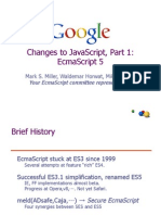 Changes to JavaScript, Part 1