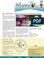 It's All the Buzz - Bee Mighty BiAnnual Newsletter
