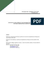 039Fin - Analise Da Caracteristica Das Distrib