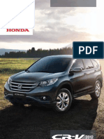 Honda Cr v Peru Catalogo