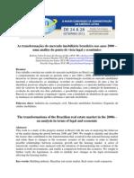 As transformações do mercado imobiliário brasileiro