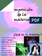 Composición de la Materia