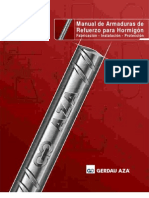 Manual Armaduras GERDAU AZA