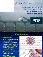 Fertilization &Implantation