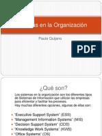 Sistemas de La Organizacion