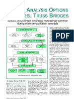 Seismic Analysis Options for Steel Truss Bridges