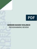 Gender Based Violence Booket (English)