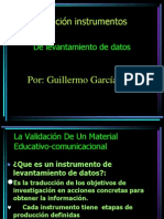 Validacion de Instrumentos