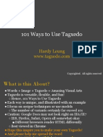 101 Ways to Use Tagxedo
