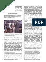 De la restauración monumental a la conservación integral - Caso San Pedro Claver