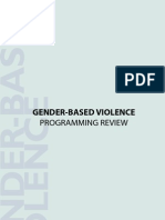 Gender Based Violence Booket (English)