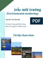 Quan trắc môi trường (Environmental monitoring Chapter 1)