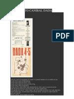 Manifiesto Canibal Dada Francis Picabia