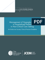 FINAL Standalone Management of Hyperglycemia Guideline