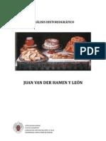 Juan Van Der Hamen y Le´n - Análisis historigráfico