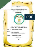 Desarrollo Cultura Inca