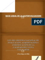2 BASE LEGAL DE LA AUTOEVALUACION unife.ppt