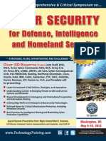 Cyber SeCurity for Defense, intelligence  and Homeland Security
