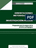 Orientaciones Metodológicas para la Investigación-Acción