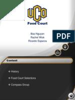 UCO Food Court