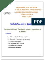 UNIDAD I - QTR- 115 - 2013