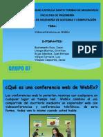 Presentación WebEx
