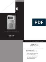 Grundig YB550PE AM-FM-HF Radio Manual