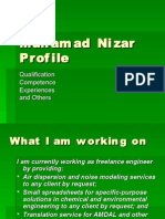 Muhamad Nizar Profile