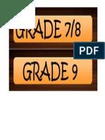 Grade Template 2