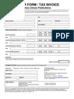 Orderform Publications