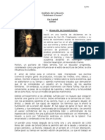 An Lisis Literario de Robinson Crusoe