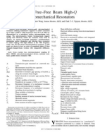 Micromechanical Resonators