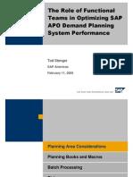 APO DP System Perfomence
