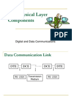 OSI Physical Layer Components