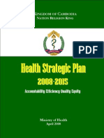 Health Strategic Plan 2008-2015