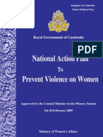 National Action Plan to Prevent Violence on Women (Eng)