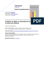 Arosemena - 2013 - Conflicts of Rights in International Human Rights a Meta-rule Analysis