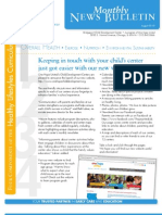 OHU CDC Bridgeport 1  August 2013 Newsletter