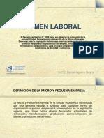 Regimen Laboral Clase Magistra Usil