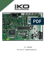 BEKO LCD TV LC Service Manual