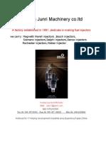Fuel Injector Catalogue