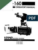Lorad LPX160 Manual 81611