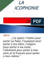 La Francophonie 2013