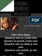 Cher Frere Blanc