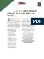 Tribune santé publique Frédéric Pierru
