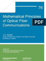 [6]Mathematical Principles of Optical Fiber Communications