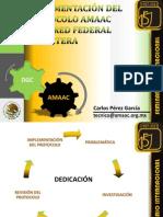 10 - Aplicación del protocolo AMAAC en la red federal carreteras